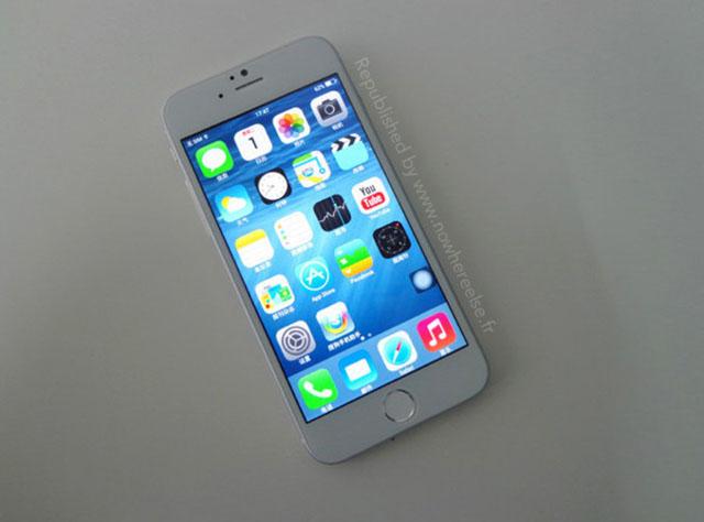 真品未出山寨先行 高仿iPhone 6亮相