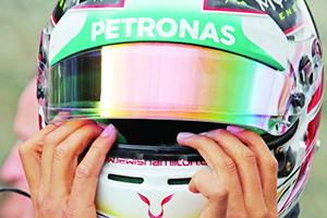 F1比利时站:罗斯伯格撞废汉密尔顿