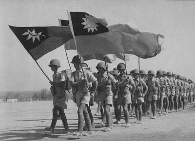 台湾迎回远征军缅甸阵亡将士英灵 入祀忠烈祠