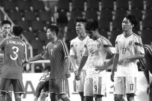 亚运国奥首秀开门黑!0比3惨败朝鲜