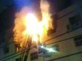 东莞一电池厂大火5女工殒命 疏散通道锁死酿惨剧