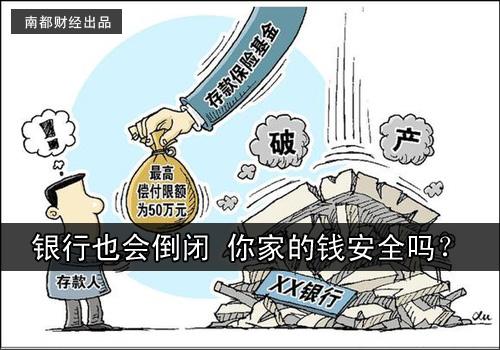 【财经风云】银行也会倒闭 你家的钱安全吗?