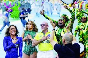 乐迷欢呼!唱巴西世界杯的那个皮叔要来广州了!