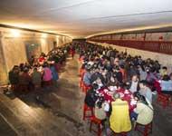 猎德村李氏元宵豪宴 5000族人免费开吃
