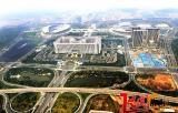 龙奥大厦靠近全运会的场馆,曾经作为十一届全运会的指挥中心和新闻中心,现为济南市委市政府驻地。