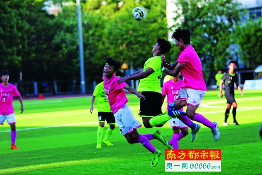 高中足球联赛决赛 翠园中学又遇老对手谷鸿鑫中将